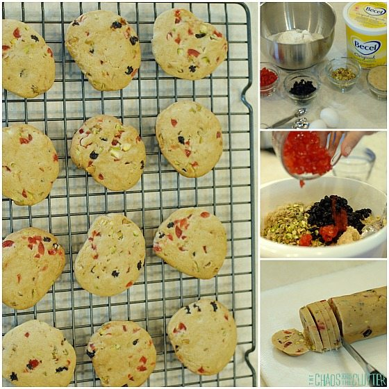 Christmas Ice Box Cookies Recipe