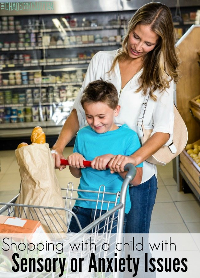 Grocery Shopping Survival Tips for children with sensory or anxiety issues
