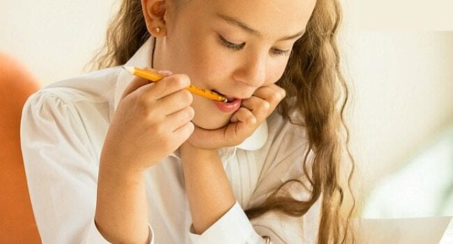 If your child chews on clothing or pencils or licks everything in sight because of sensory or anxiety issues, these tips may help.
