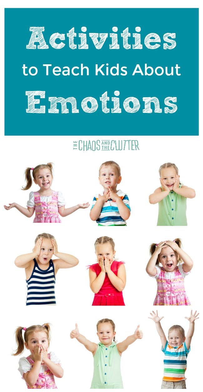 Giving our kids a solid foundation for emotional health is so important. These activities to teach kids about emotions are perfect for this.