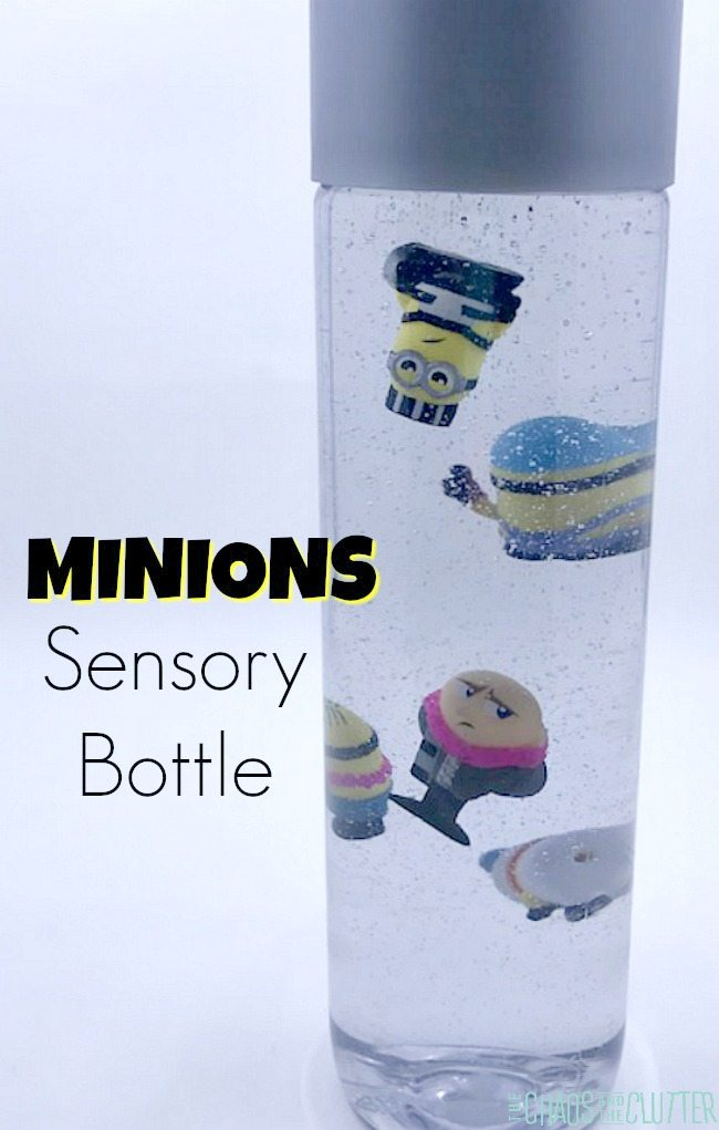 Adorable Minions Despicable Me Sensory Bottle