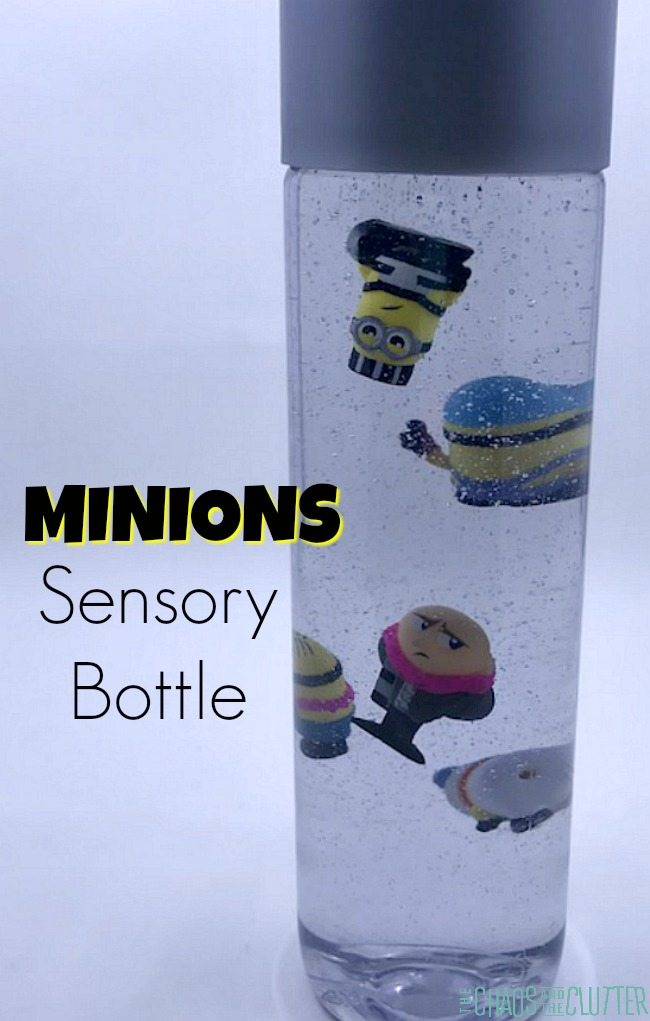 Minions Despicable Me Sensory Bottle