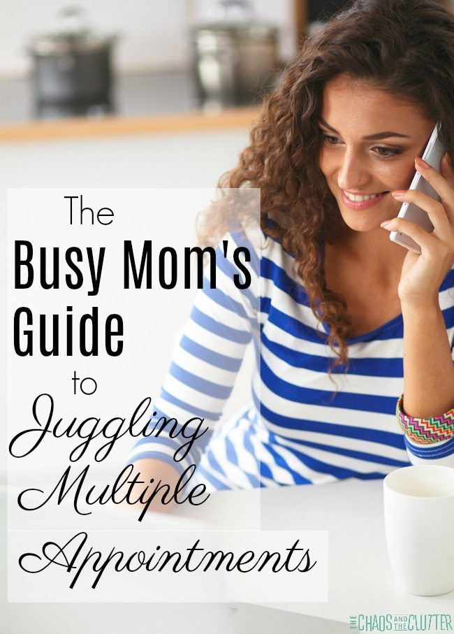 The Busy Mom's Guide to Juggling Multiple Appointments