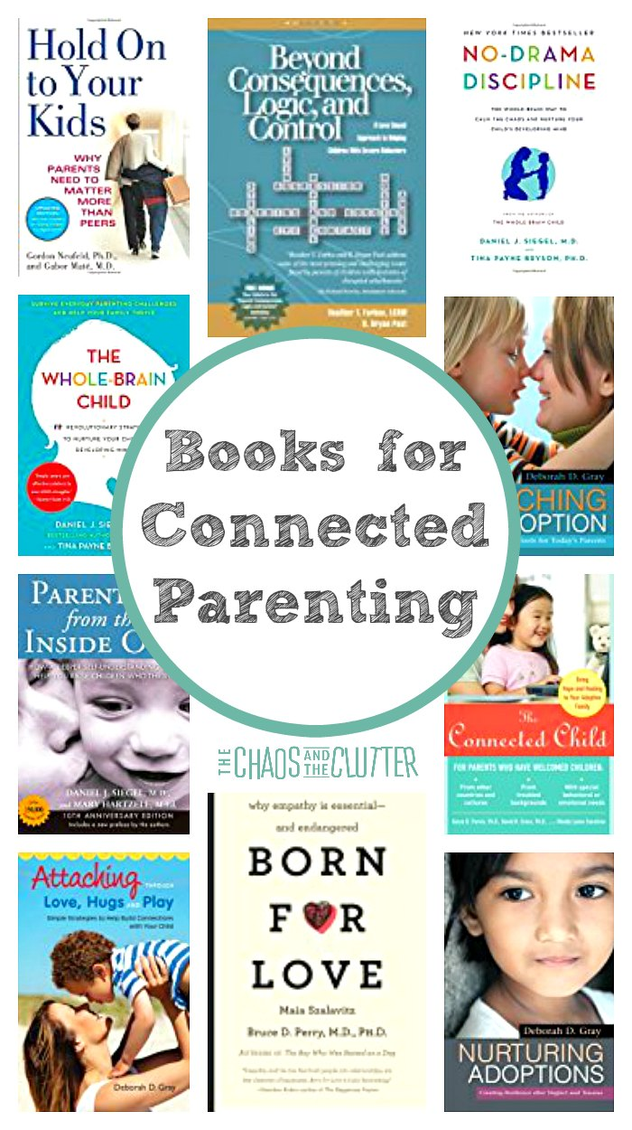 Connected parenting is also sometimes referred to as therapeutic parenting. If you are new to this parenting style, these books can serve as your guide.