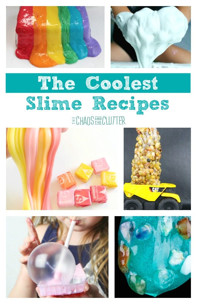 If you are getting bored with the usual slime ideas, these cool slime recipes are sure to bring a new level of excitement to your slime play!