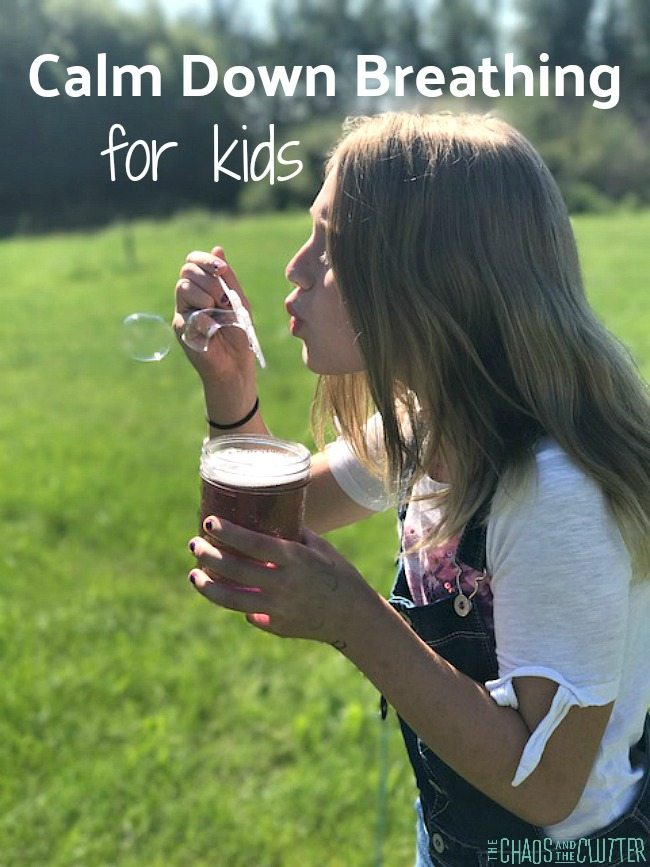 3 Calm Down Breathing Techniques for kids #parenting #specialneeds