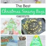 The Best Christmas Sensory Bags #sensory #sensoryplay