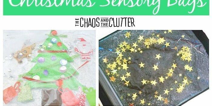 The Best Christmas Sensory Bags #sensory #sensoryplay