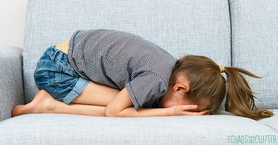 5 Critical Steps to Take When Your Child has a Meltdown