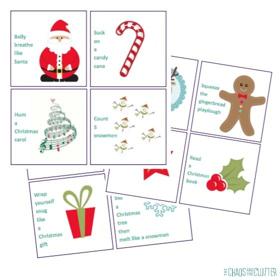 get your free printable christmas calm down cards here