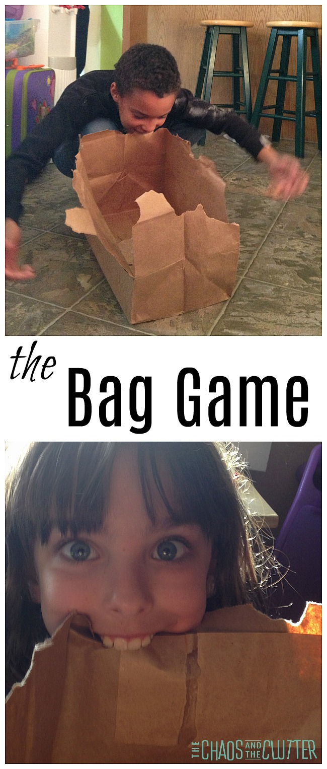 The Bag Game - fun for family fun nights, youth group events and parties