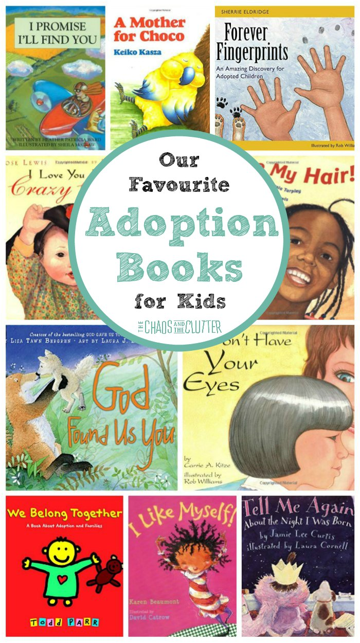 Our Favourite Adoption Books for Kids #adoption #books #adoptiveparenting