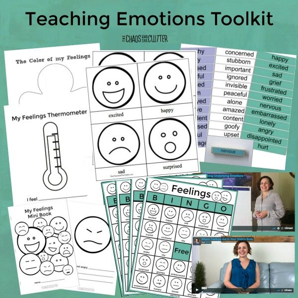 Activities to Teach Kids About Emotions