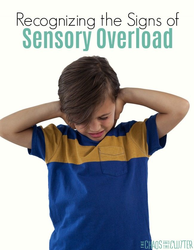 Recognizing the signs of sensory overload in children #sensoryprocessing #sensory #SPD #sensoryprocessingdisorder #specialneeds