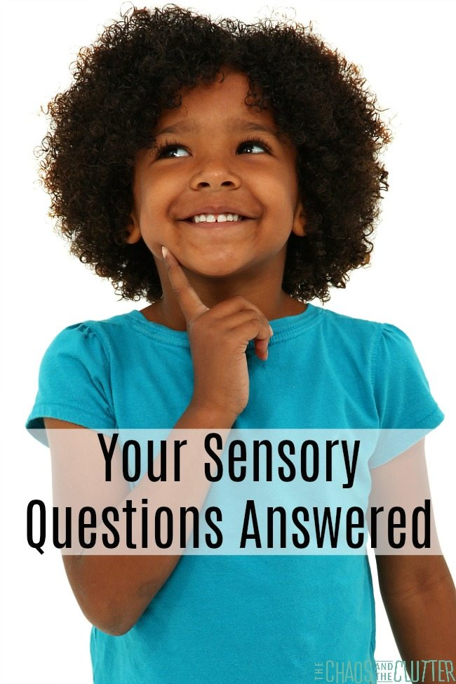 If you are looking for answers to your sensory questions, sign up for our FREE email series, Sensory Solutions and Activities. #SPD #sensoryprocessing #sensoryprocessingdisorder