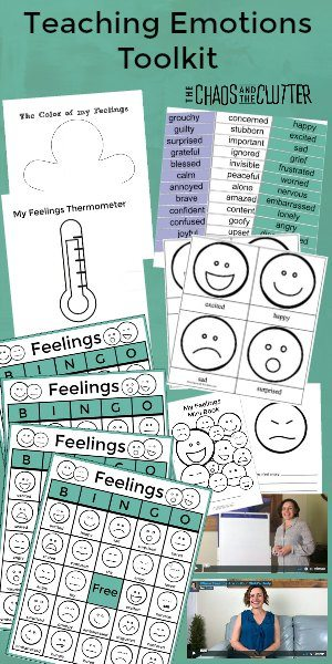 The Chaos and the Clutter Teaching Emotions Toolkit