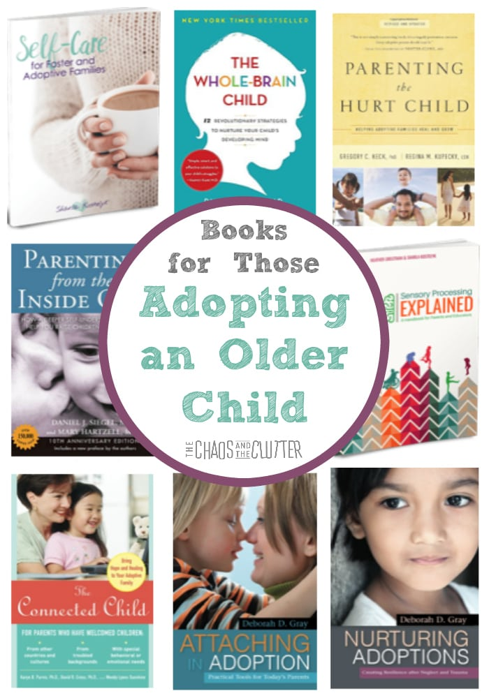 The Best Books for Those Adopting an Older Child #adoption #adoptiveparenting