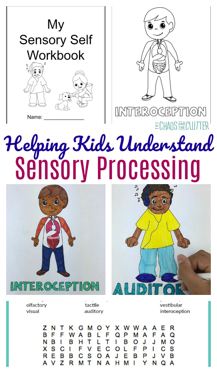 Proprioception, vestibular, interoception...it's complicated! Teach kids about sensory processing in a way they will understand. #sensoryprocessingdisorder #sensoryprocessingexplained #sensory