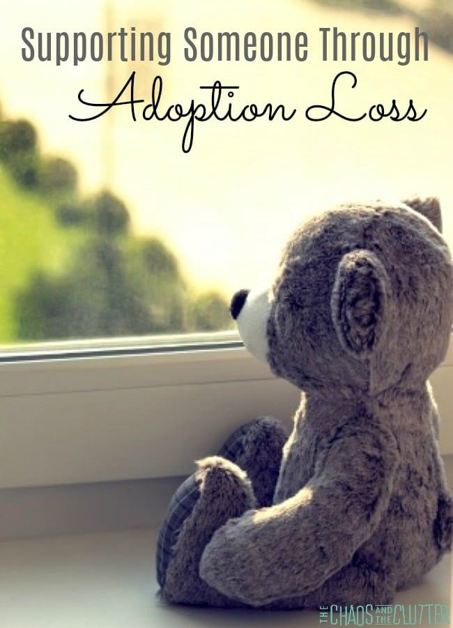 Supporting Someone Through Adoption Loss or Foster Care Transition #adoption #fostercare