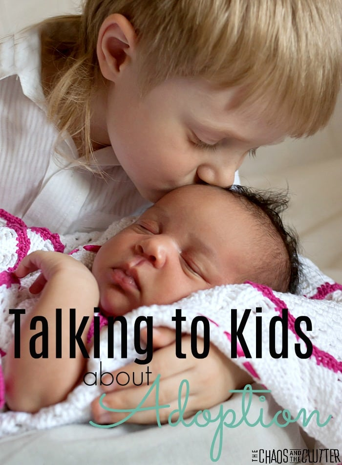 Talking to Kids about Adoption #adoption #adoptioneducation #adoptionrocks