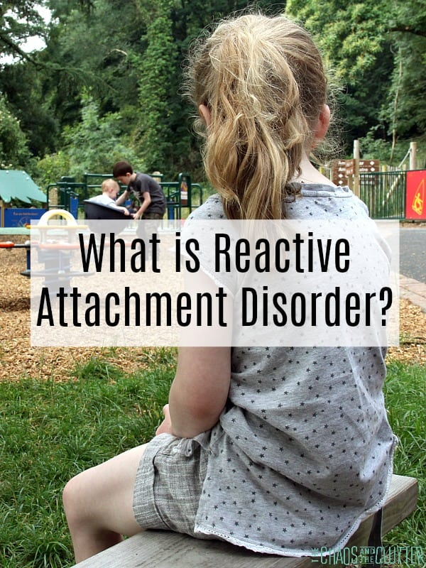 What is Reactive Attachment Disorder? #adoption #reactiveattachmentdisorder #rad