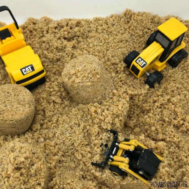 how to make your own kinetic sand