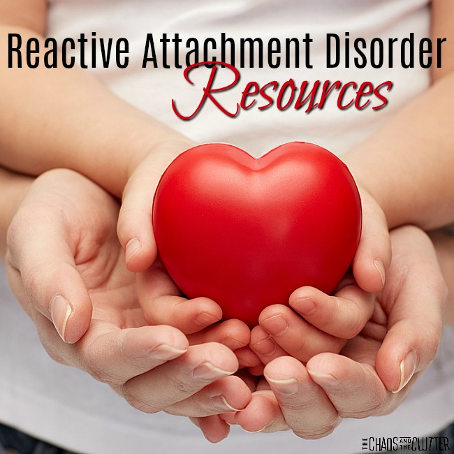Reactive attachment disorder in teenagers