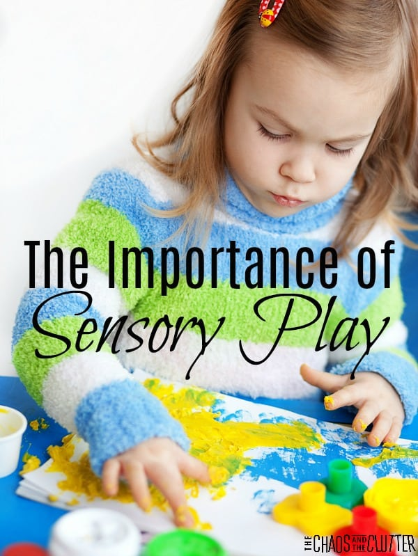 The Importance of Sensory Play for Children #sensoryplay #sensoryprocessingdisorder #spd