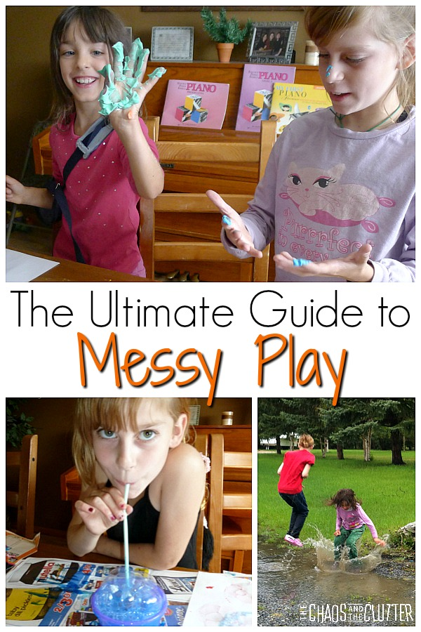 The Ultimate Guide to Messy Play #sensoryplay #sensory #kidsactivities #messyplay #preschool #kbn