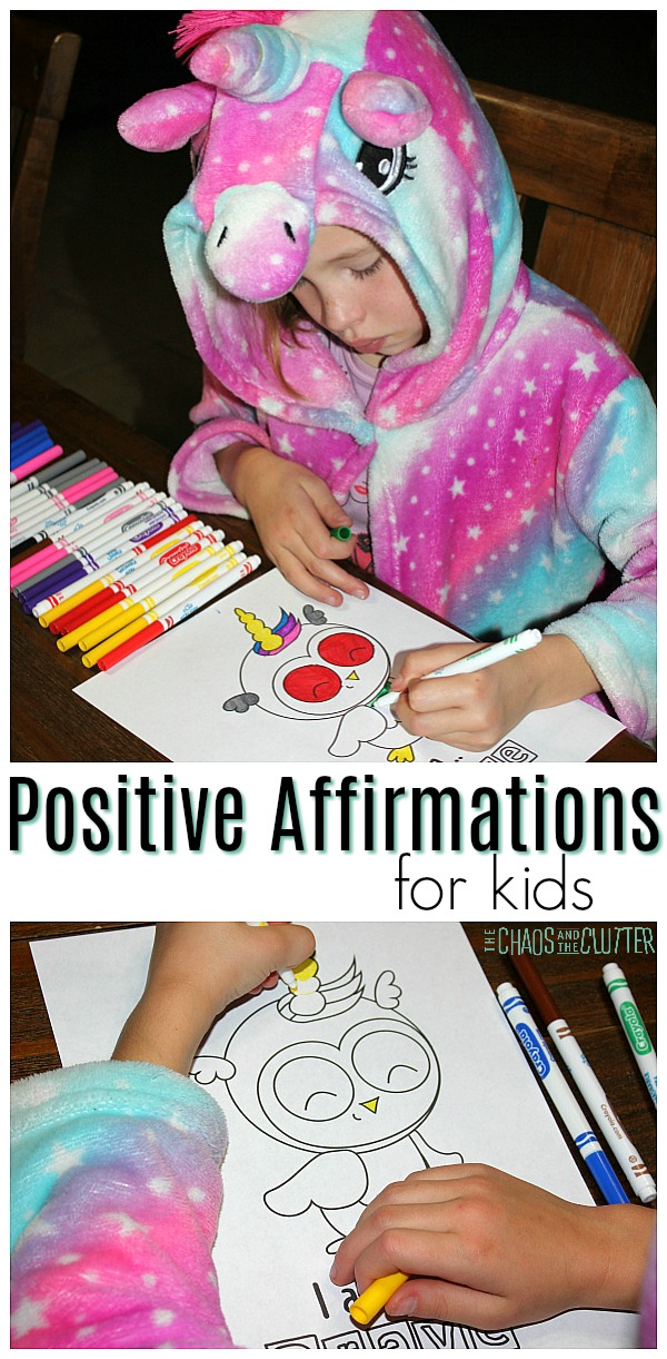 Positive Affirmations for Kids #growthmindset #positiveaffirmations #unicorn #mindset