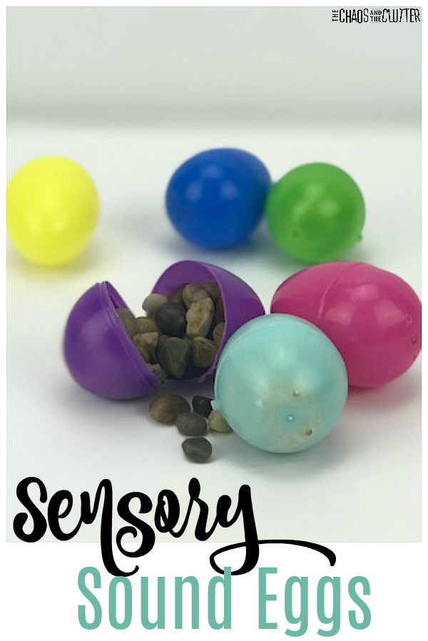 Sensory Sound Eggs #sensoryplay #easteractivity #auditorysystem #sensory #spd