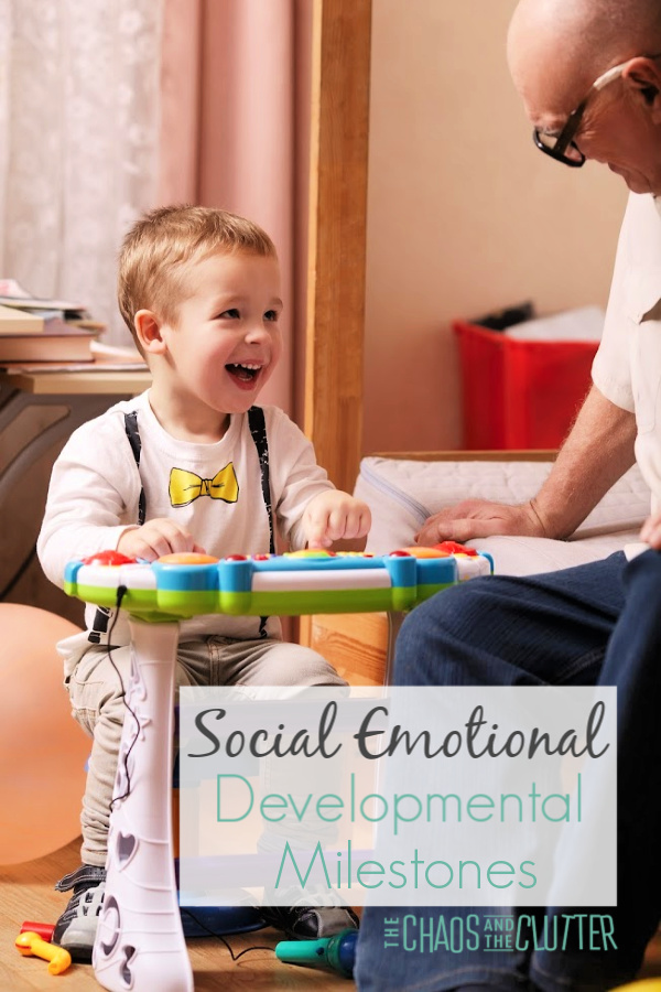 Social Emotional Developmental Milestones in Children #parentingtips #emotionalregulation #specialneeds #specialneedsparenting