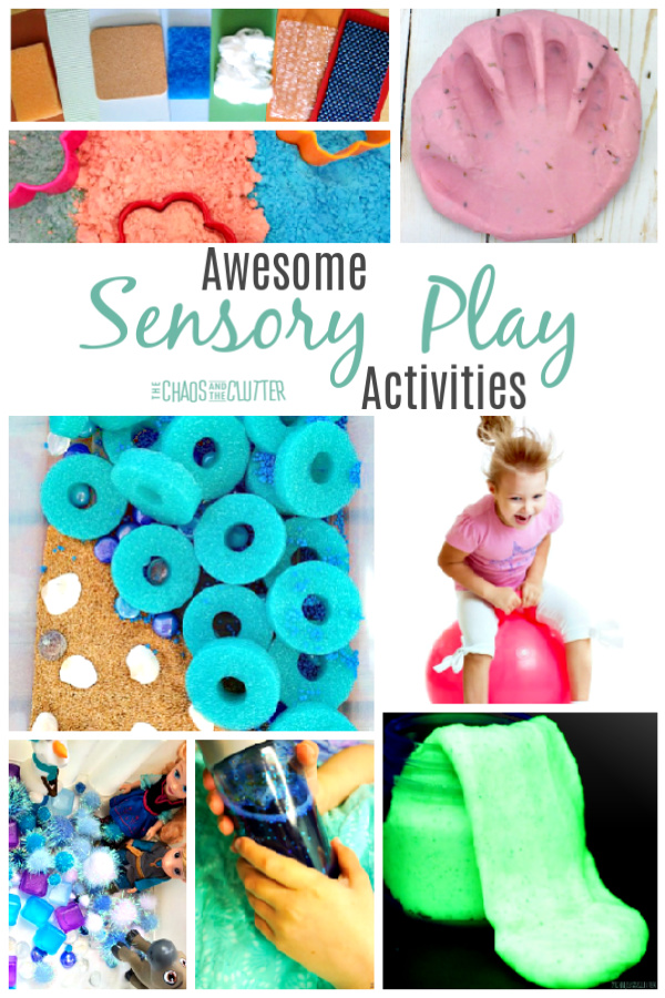 Sooo many sensory play ideas here! #sensoryplay #sensoryactivities #sensory #kidsactivities