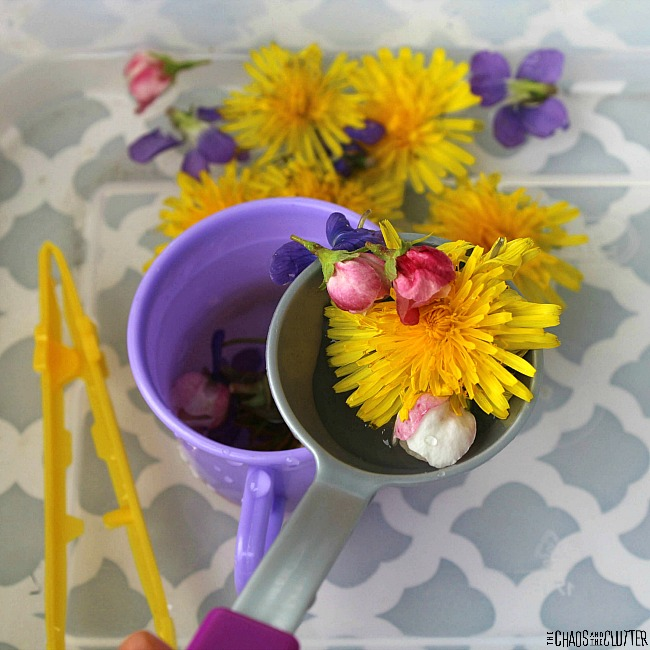 Nature Inspired Spring Sensory Soup