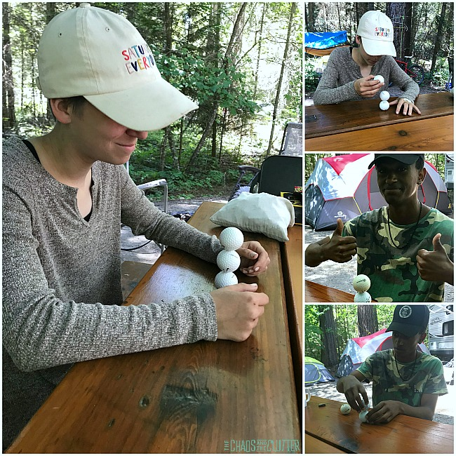 Minute to Win It Camping Games