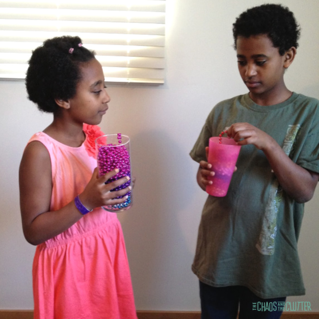 Easy Science for Kids - Gravity Defying Beads