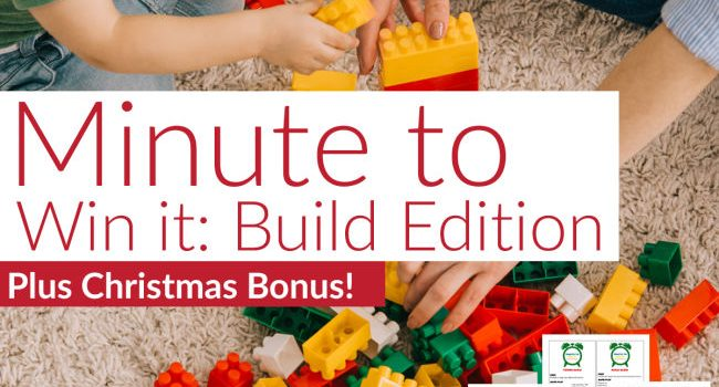 mother and daughter's hands play with building blocks